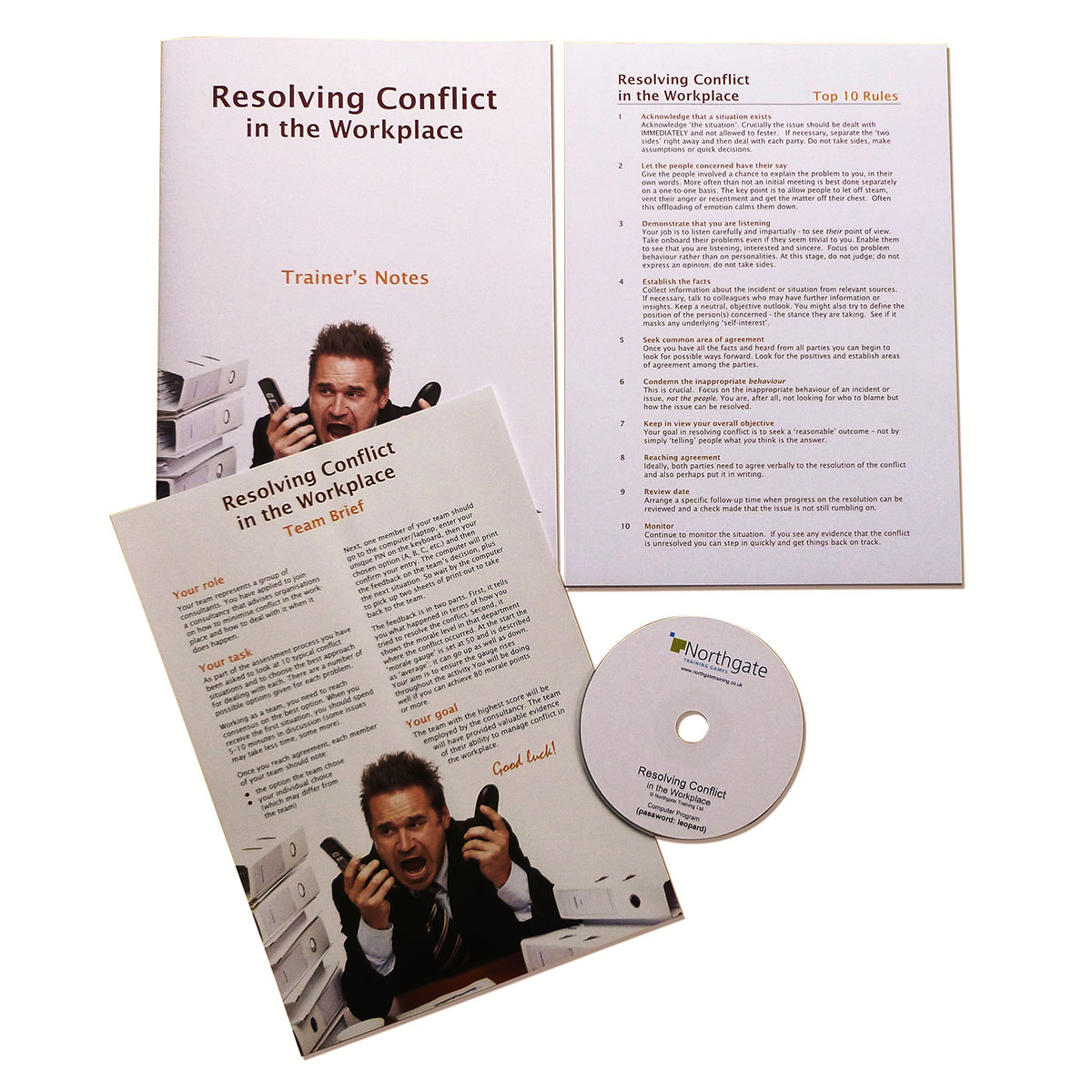 the process of identifying and resolving conflict in the workplace How you utilize conflict resolution strategies depends on both your conflict style and your conflict resolution skills there are many different ways to respond to conflict situations some conflict styles involve a considerate or cooperative approach while others involve either a competitive or passive approach.