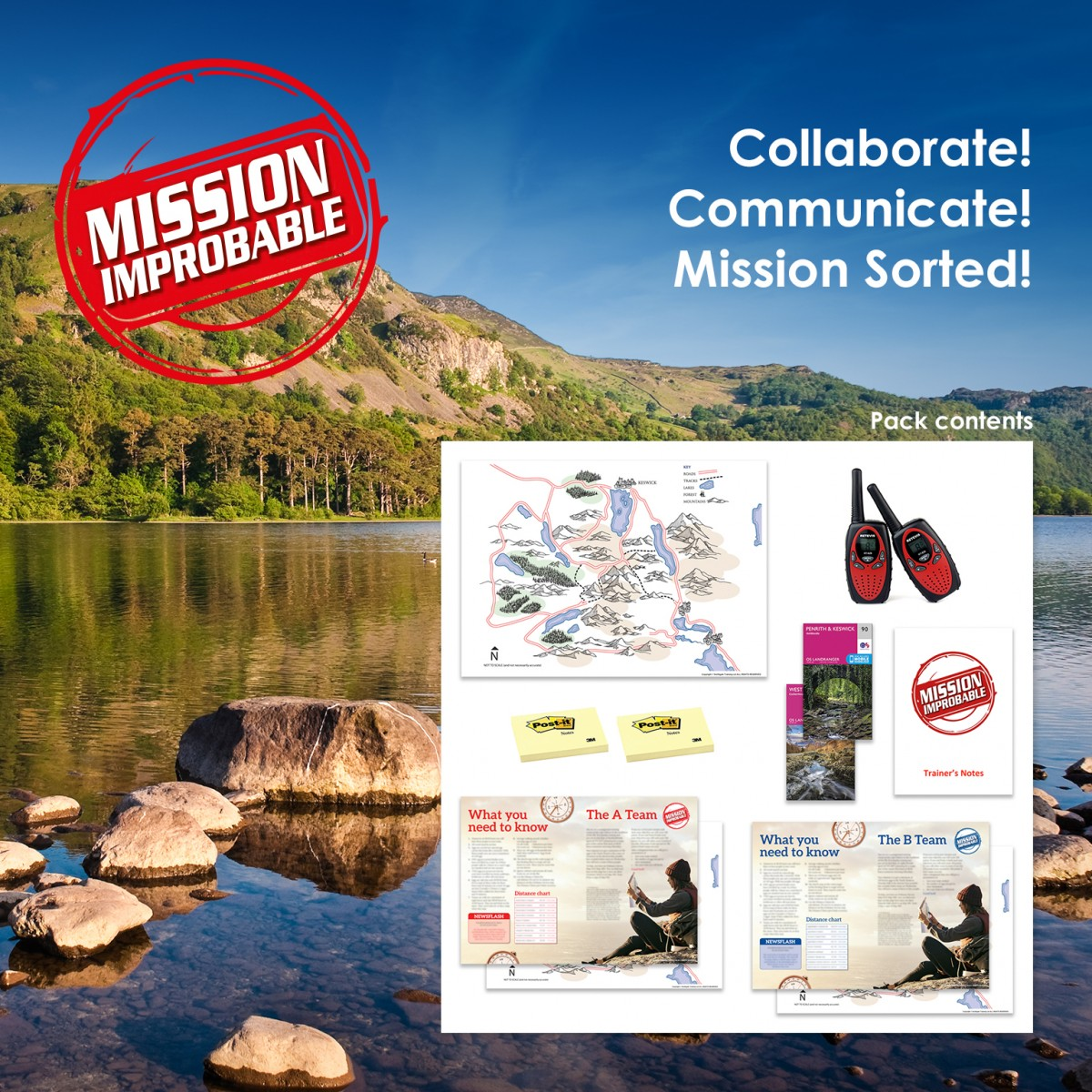 Mission Improbable  | Communication & Teamwork Training Activity