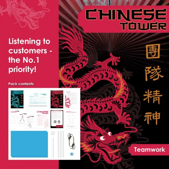 Chinese Tower | Customer Service & Teamwork Training Activity