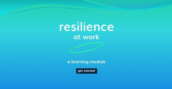 E-learning module Resilience at Work