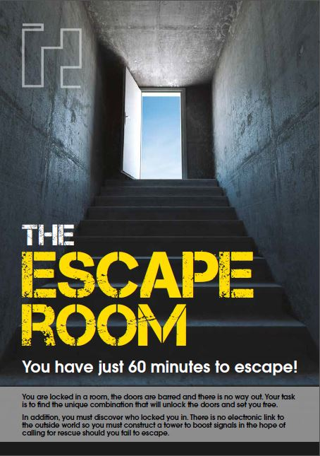 New Product Launch: The Escape Room image