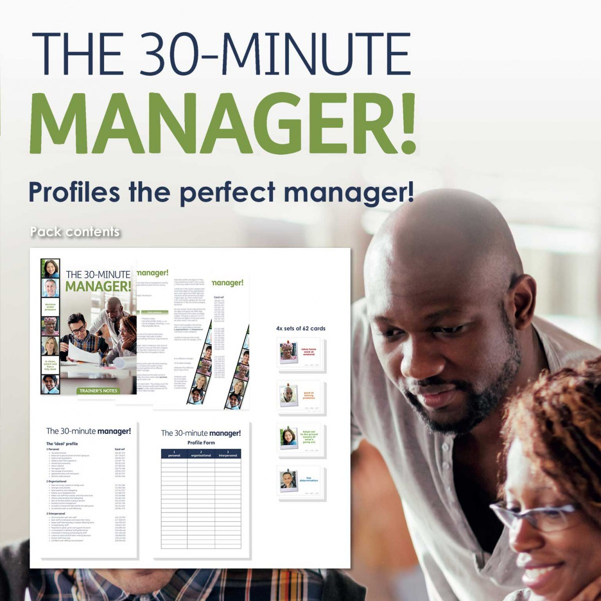 The 30 Minute Manager! | Managing People Training Activity