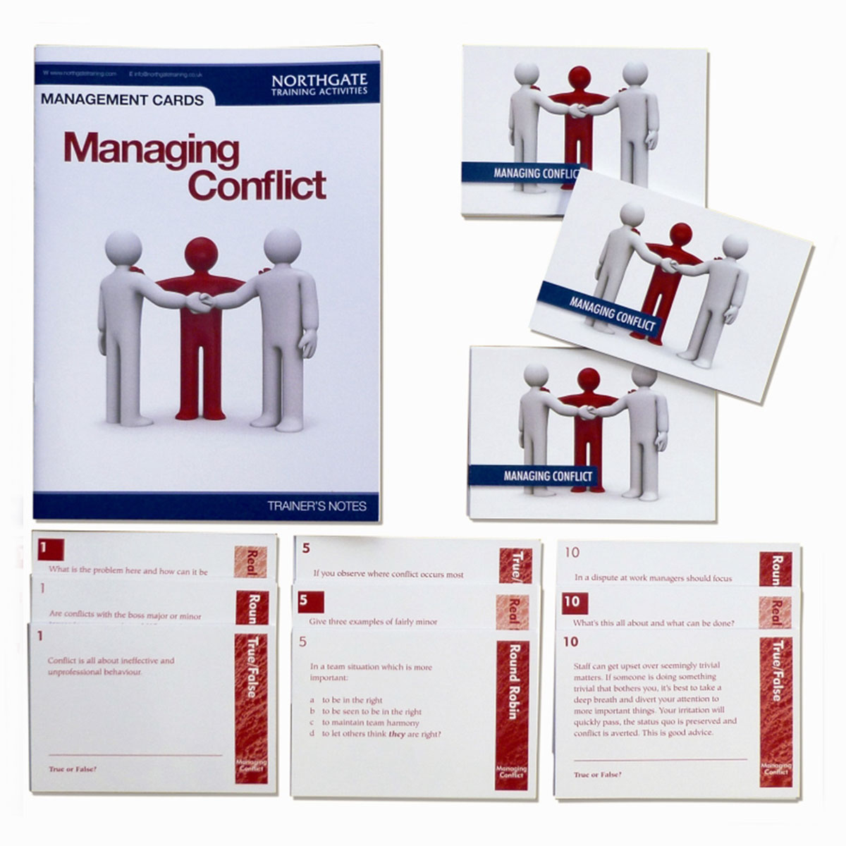Managing Conflict Cards | Conflict Management Training Activity