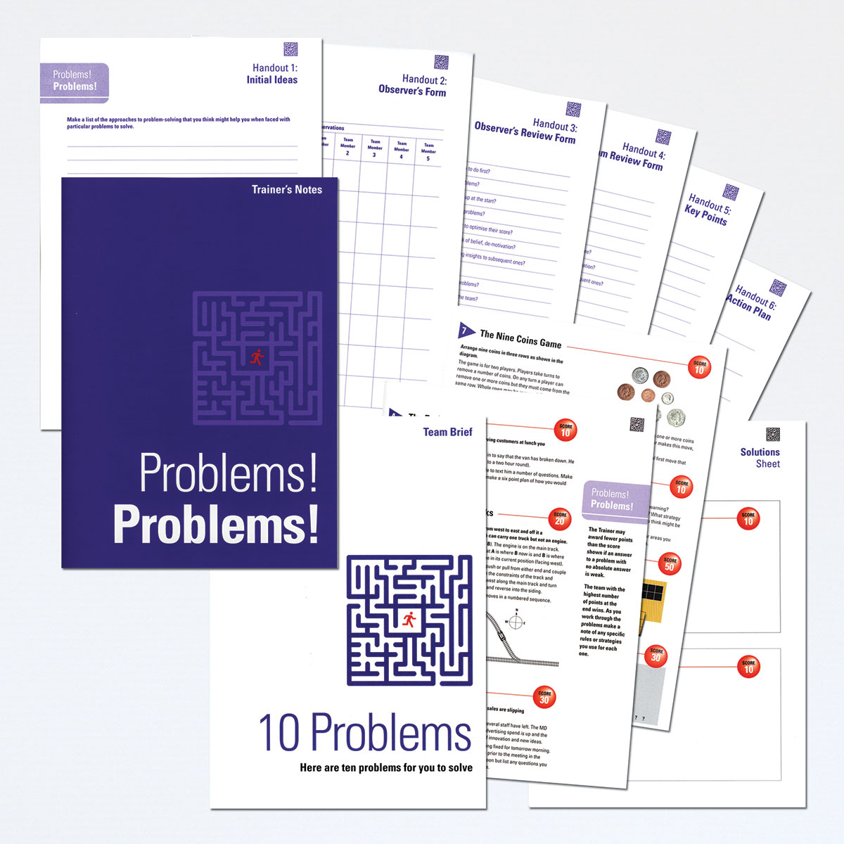 Problems! Problems! | Problem-Solving Training Activity