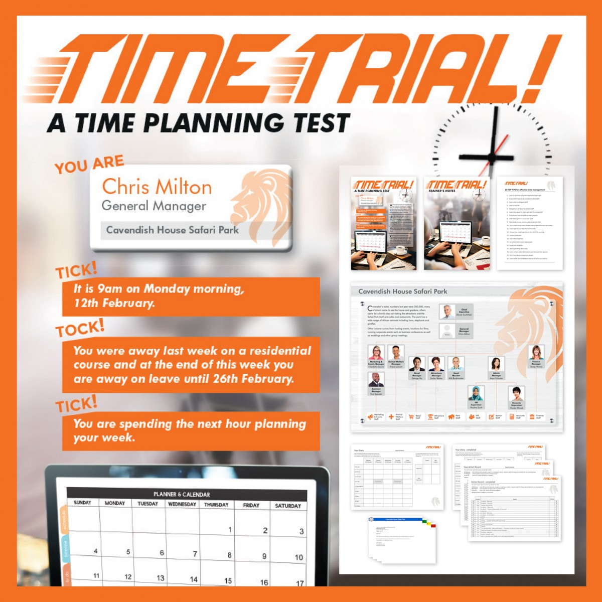 Time Trial! | Time Management InBox Training Activity | Virtual Training Activity