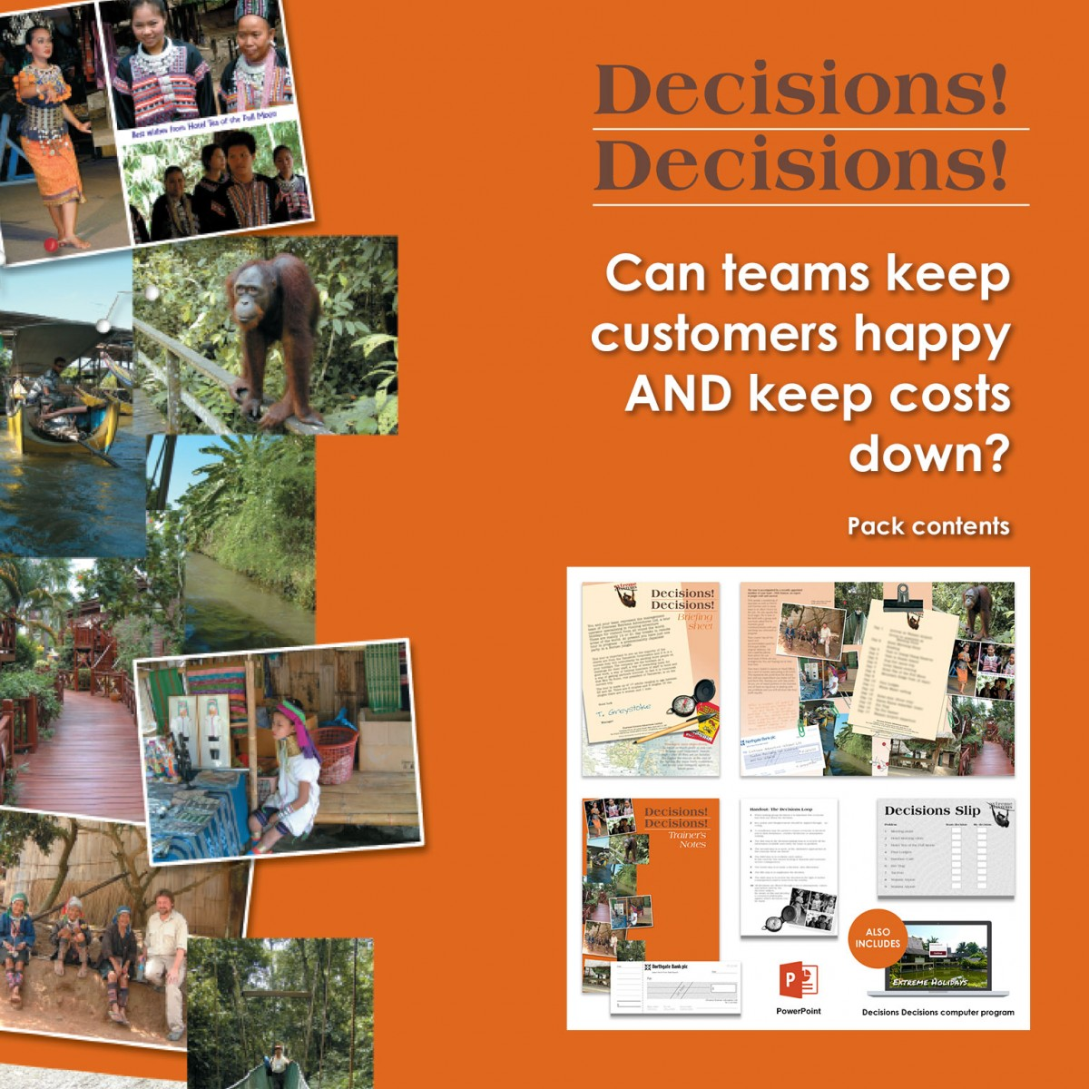 Decisions! Decisions! | Decision-Making Training Activity | Virtual Training Activity