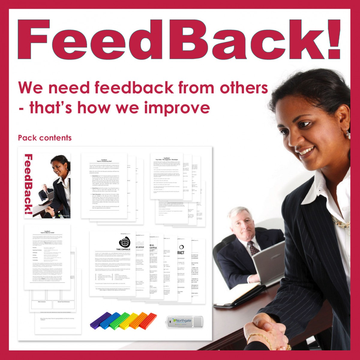 Feedback! | Managing People Training Activity