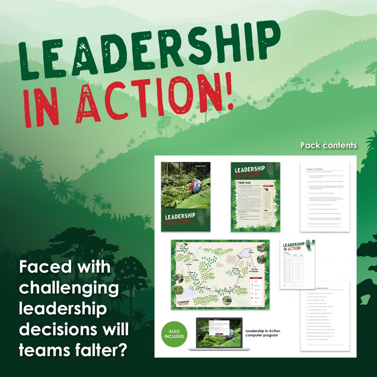 Leadership in Action! | Leadership Training Activity