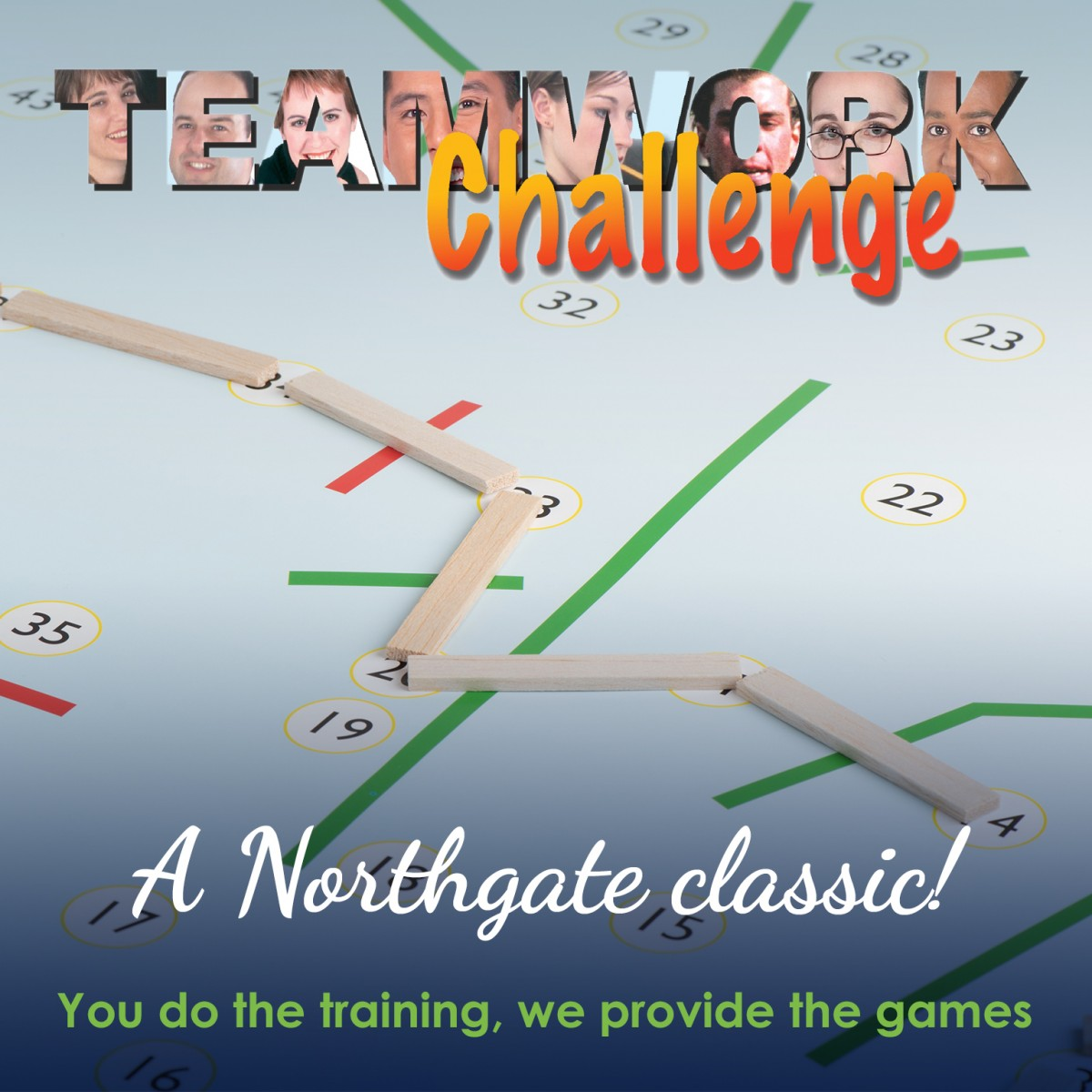 Teamwork Challenge| Teamwork Training Activity