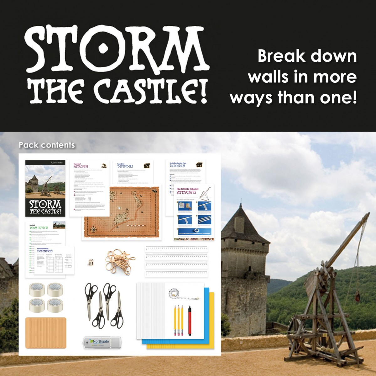 Storm the Castle! | Fun Teamwork Training Activity