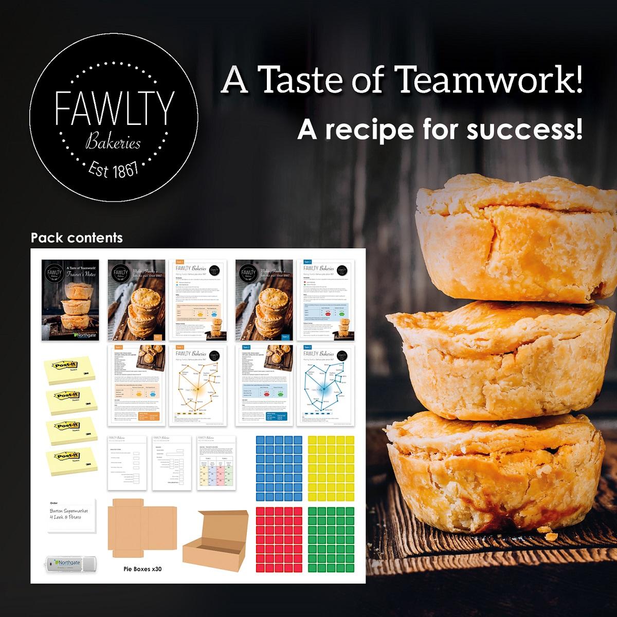A Taste of Teamwork   Teamwork Training Activity