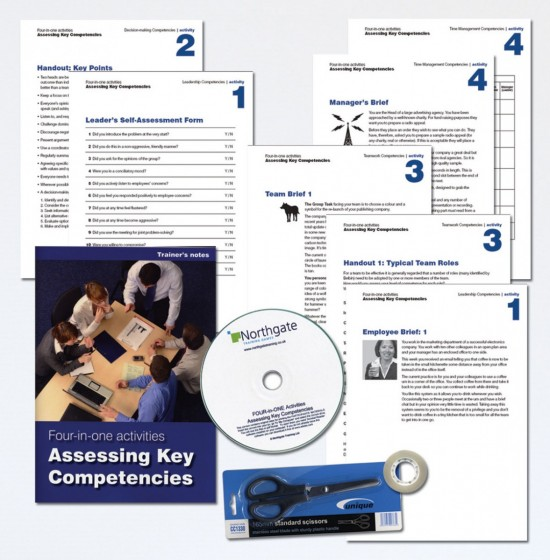 4-in-1: Assessing Key Competencies | Training Activity
