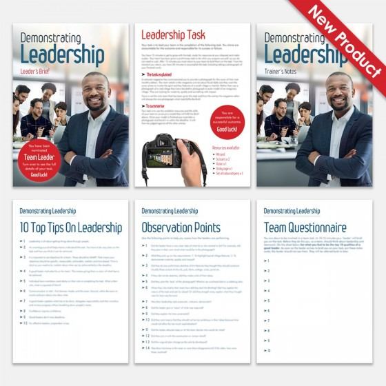 Demonstrating Leadership | Leadership Training Activity