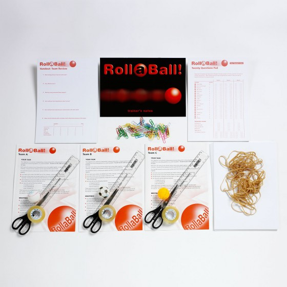 RollaBall! | Roller Coaster Teamwork Training Activity