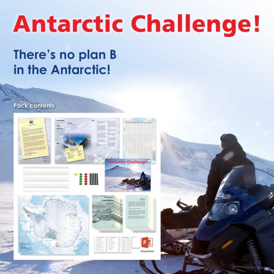 Antarctic Challenge | Teamwork & Leadership Training Activity